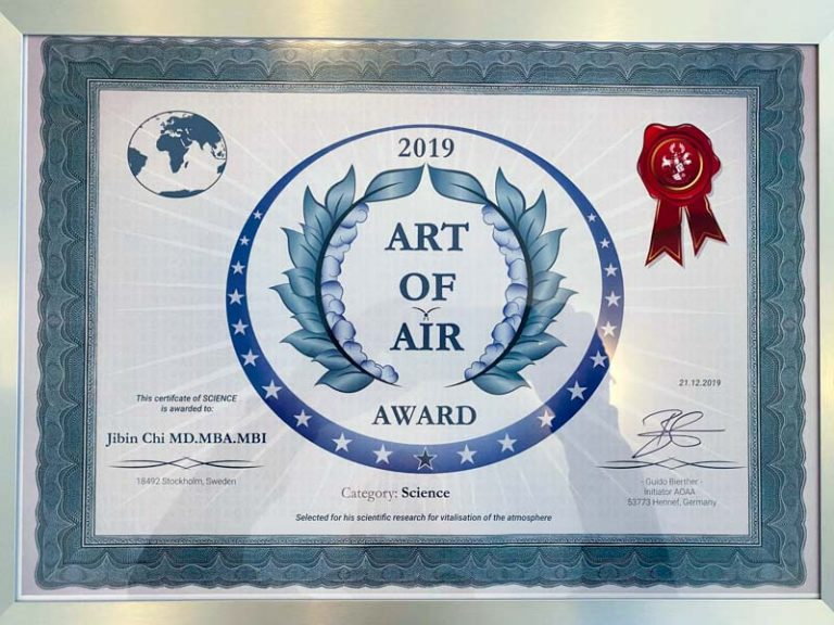 Art of Air Award by Airnergy 2019